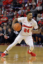 09 December 2017:  Jerron Martin during a College mens basketball game between the Murray State Racers and Illinois State Redbirds in  Redbird Arena, Normal IL