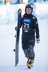 Sarsembaev Dmitry during the FIS snowboarding world cup race in Rogla (SI / SLO) | GS on January 20, 2018, in Jasna Ski slope, Rogla, Slovenia. Photo by Urban Meglic / Sportida