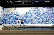Brumadinho_MG, Brasil.<br /> <br /> Centro de Arte Contemporanea Inhotim (CACI). O Instituto Inhotim e a sede de um dos mais importantes acervos de arte contemporanea do Brasil e considerado o maior centro de arte ao ar livre da America Latina em Brumadinho, Minas Gerais. <br /> <br /> The Institute Inhotim is one of the most important collections of contemporary art in Brazil and the largest outdoor center of art in Latin America Its is in Brumadinho, Minas Gerais. <br /> <br /> Foto: RODRIGO LIMA / NITRO