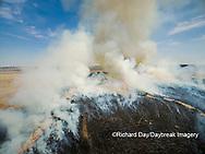 63863-02915 Prescribed Burn by IDNR Prairie Ridge State Natural Area Marion Co. IL