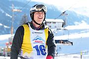 Steve Anderhub, Teilnehmer beim Renzo's Schneeplausch vom 23. Januar 2016 in Vella, Gemeinde Lumnezia.