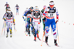 January 6, 2018 - Val Di Fiemme, ITALY - 180106 Emma WikŽn of Sweden competes in women's 10km mass start classic technique during Tour de Ski on January 6, 2018 in Val di Fiemme..Photo: Jon Olav Nesvold / BILDBYRN / kod JE / 160122 (Credit Image: © Jon Olav Nesvold/Bildbyran via ZUMA Wire)