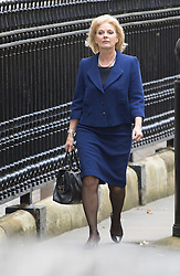 Downing Street,  London, June 27th 2015. Small Business Minister Anna Soubry arrives for the first post-Brexit cabinet meeting at 10 Downing Street