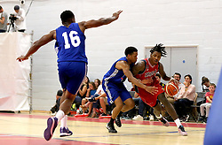 Lovell Cook of Bristol Flyers runs with the ball - Mandatory by-line: Robbie Stephenson/JMP - 08/09/2016 - BASKETBALL - SGS Arena - Bristol, England - Bristol Flyers v USA Select - Preseason Friendly