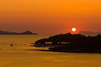 Sunset, Koh Samui (island), Gulf of Thailand, Thailand
