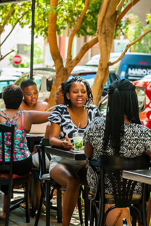 Pata Pata Restaurant, Main Street Life, Maboneng Precinct, Johannesburg, South Africa.