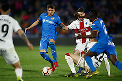 March 9, 2019 - Getafe, MADRID, SPAIN - Arambarri of Getafe during the spanish league, La Liga, football match played between Getafe CF and SD Huesca at Butarque Stadium in Getafe, Madrid, Spain, on March 9, 2019. (Credit Image: © AFP7 via ZUMA Wire)
