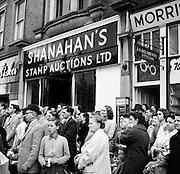 Shanahan Stamp Arrests - Singer arrested.30/05/1959