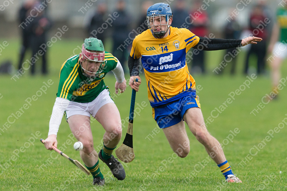 Kerry's Sean Weir V Clare's Shane O'Donnell