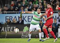 BILDETINNGÅRIKKEIFASTAVTALER.<br /> ALLNEDLASTINGVILBLIFAKTURERT.<br /> <br /> Fotball<br /> Tyskland<br /> 06.11.2015<br /> Foto: Imago/Digitalsport<br /> NORWAY ONLY<br /> <br /> 06.11.2015 - Fussball - Saison 2015 2016 - 2. Fussball - Bundesliga - 14. Spieltag: SpVgg Greuther Fürth - DSC Arminia Bielefeld <br /> <br /> Veton Berisha (19, SpVgg Greuther Fürth ) Florian Dick (23, DSC Arminia Bielefeld )