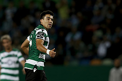 October 22, 2017 - Lisbon, Portugal - Sporting's midfielder Marcos Acuna reacts during Primeira Liga 2017/18 match between Sporting CP vs GD Chaves, in Lisbon, on October 22, 2017. (Credit Image: © Carlos Palma/NurPhoto via ZUMA Press)