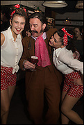 MICHAEL ATTREE;, Cahoots club launch party, 13 Kingly Court, London, W1B 5PW  26 February 2015