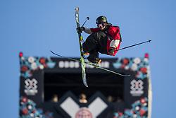 May 19, 2018 - Fornebu, NORWAY - 180519 Henrik Harlaut of Sweden competes in the men's big air ski finals during X Games Norway on May 19, 2018 in Oslo. .Photo: Vegard Wivestad Grøtt / BILDBYRÃ…N / kod VG / 170170 (Credit Image: © Vegard Wivestad GrØTt/Bildbyran via ZUMA Press)