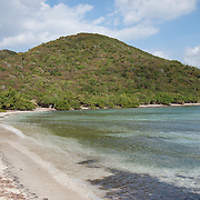 Brown Bay, St. John USVI, no road acces to Brown Bay, a hike is required to get here from the Coral Bay area, or from Leinster Bay.