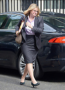 © Licensed to London News Pictures. 10/07/2012. Westminster, UK. Justine Greening Secretary of State for Transport.  Politicians in Downing Street today 10th July 2012. Photo credit : Stephen Simpson/LNP