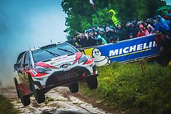 July 1, 2017 - Mikolajki, Mazurie, Pologne - Jari Matti Latvala.Miikka Anttila (Credit Image: © Panoramic via ZUMA Press)