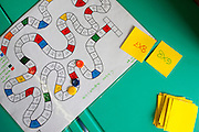 Belo Horizonte_MG, Brasil...Professora, da escola Balao Vermelho, criou um jogo onde os alunos tem que realizar operacoes matematicas para avancar...A teacher of Balao Vermelho school, created a game where students have to perform mathematical operations to proceed...Foto: LEO DRUMOND /  NITRO