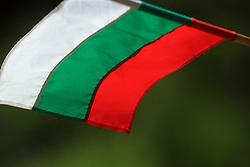 Hungarian flag, on July 6, 2008, Kranj, Slovenia. (Photo by Vid Ponikvar / Sportal Images)<br /> <br /> / Sportida)