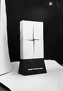 Jacob's TV/Radio Award.1981.25.03.1981.03.25.1981.25th March 1981..The Jacobs TV/Radio award featured a stylised St Brigids' Cross in the design. The award was given to recipients in recognition of their work in broadcasting..Jacobs is a very well known name in the world of biscuit manufacture and had their main factory in Golden Lane, Dublin,Ireland, before moving to Tallaght,Co Dublin.