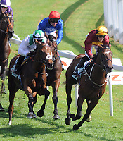 Horse Racing - Epsom Festival - Derby Day - Epsom Downs  The Cazoo Derby<br /> <br /> Winner, Adam Kirby on Adayar at Tottenham Corner<br /> <br /> Credit : COLORSPORT/ANDREW COWIE