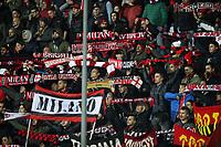 """Tifosi Milan<br /> Empoli 26-09-2016  Stadio """"Carlo Castellani""""<br /> Campionato Serie A 2016/2017<br /> Empoli - Milan<br /> Foto Luca Pagliaricci / Insidefoto"""