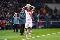 Almamy Toure - 04.03.2015 - PSG / Monaco - 1/4Finale Coupe de France<br /> Photo : Andre Ferreira / Icon Sport
