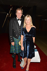ALASTAIR CAMPBELL and FIONA MILLER at the GQ Men of The Year Awards 2016 in association with Hugo Boss held at Tate Modern, London on 6th September 2016.