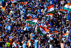 India fans cheer their team on against England - Mandatory by-line: Robbie Stephenson/JMP - 30/06/2019 - CRICKET - Edgbaston - Birmingham, England - England v India - ICC Cricket World Cup 2019 - Group Stage