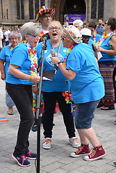 Sing With Pride, Pride 2017, Norwich UK, 29 July 2017