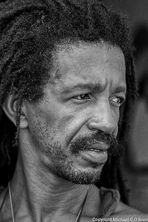Afro Brazilian artist Gil Abelha