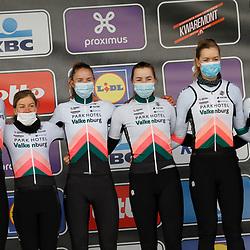 14-04-2021: Wielrennen: Brabantse Pijl women: Overijse: Team Parkhotel