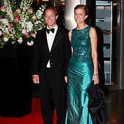 NLD/Amsterdam/20110527 - 40ste verjaardag Prinses Maxima, Prins  Jaime de Bourbon de Parma en partner Paulette van Ommen