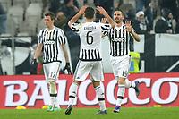 Esultanza dopo il gol di Leonardo Bonucci Juventus, con Khedira. Goal celebration.<br /> Torino 28/02/2016, Juventus Stadium, <br /> Campionato Serie A,<br /> Juventus - Inter<br /> Foto Filippo Alfero / Insidefoto