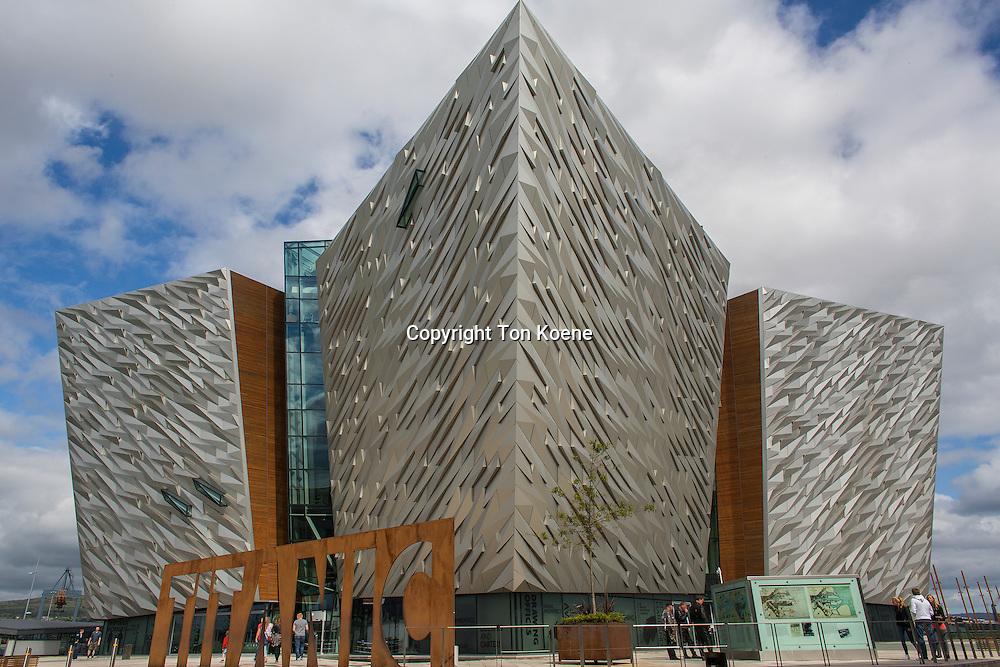 Titanic Belfast is a $165 million visitor attraction centre