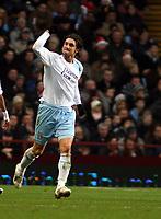 Photo: Mark Stephenson/Sportsbeat Images.<br /> Aston Villa v Manchester City. The FA Barclays Premiership. 22/12/2007.City's Rolando Bianchi celebrates his goal