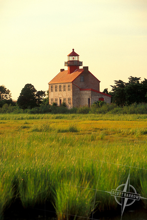 East Point Lighthouse, Delaware Bay, New Jersey.