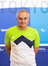 TOKYO, JAPAN --AUGUST 26: Boro Strumbelj of Team Slovenia posing during photo session at Paralympic village on day 2 of the Tokyo 2020 Paralympic Games on August 26, 2021 in Tokyo, Japan. Photo by Vid Ponikvar / Sportida