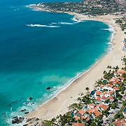 Aerial view of Palmilla. San Jose del cabo, Mexico.