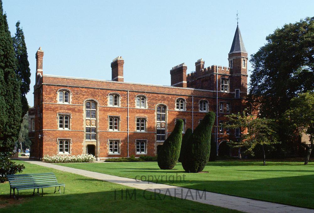 Jesus College Chapel, Cambridge University, England, UK