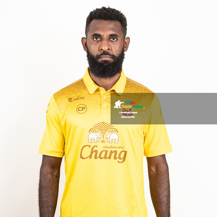 THAILAND - JUNE 29: Rudolf Yanto Basna #32 of Sukhothai FC on June 29, 2019.<br /> .<br /> .<br /> .<br /> (Photo by: Naratip Golf Srisupab/SEALs Sports Images/MB Media Solutions)