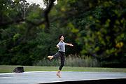 TIVOLI, NY - AUG 2: Dancer Melvin Lawovi performs at the Kaatsbaan International Dance Center's Summer Festival, Sunday, Aug. 2, 2020, in Tivoli, New York. (Photo by Jessica Hill for the Washington Post)