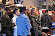Philadelphia - 2015 Armour men's clothing store, 704 S. 4th street. In-store Philly Black Pride and Penn Relay Event.