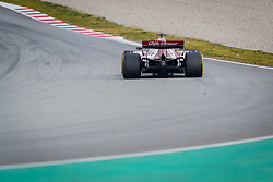 February 19, 2019 - Montmelo, Barcelona, Spain - Barcelona-Catalunya Circuit, Montmelo, Catalonia, Spain - 19/02/2018: Antonio Giovinazzi of Alfa Romeo Racing whit the new C38 car during second journey of F1 Test Days in Montmelo circuit. (Credit Image: © Javier Martinez De La Puente/SOPA Images via ZUMA Wire)