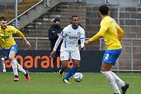 Nyal Bell. Torquay United FC 1-0 Stockport County FC. Vanarama National League. 3.10.20