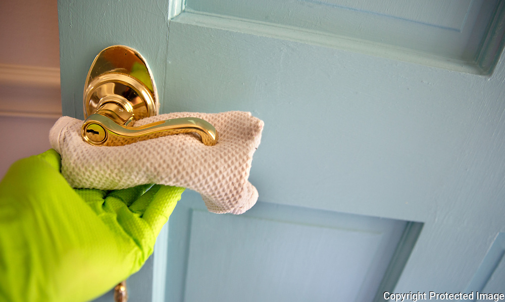 Caretaker Sanitizing Door Handle