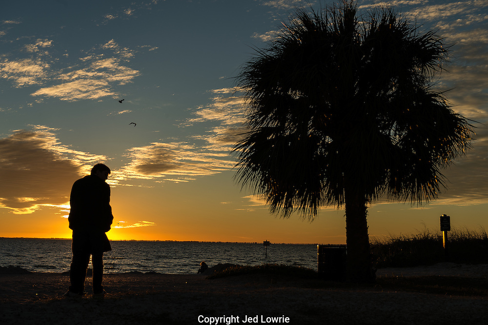 Watching the sunset in Florida is an experience everyone should have.  Watching it with someone special, even better.