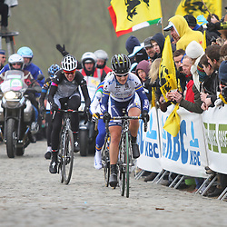 Sportfoto archief 2013<br /> Tour of Flanders women Paterberg Emma Johansson takes the lead