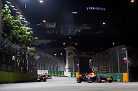 VETTEL Sebastian (Ger) Red Bull Renault Rb10 Action  during the 2014 Formula One World Championship, Singapore Grand Prix from September 19th to 21th 2014 in Singapour.<br /> F1<br /> <br /> Norway only