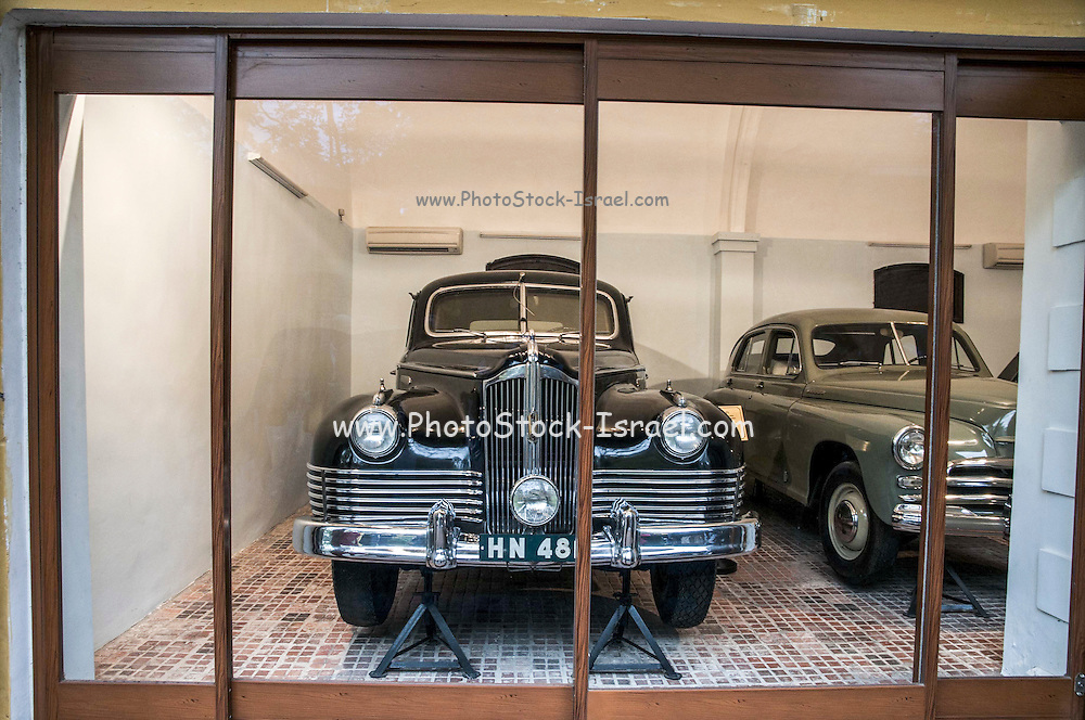 President Ho Chi Minhs Cars in the Mausoleum Complex in Hanoi Vietnam