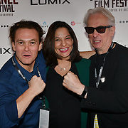 Director Casey Kauffman, wife and Elliot Grove - The Thing We Keep attend 'Souls of Totality' film at Raindance Film Festival 2018, London, UK. 30 September 2018.